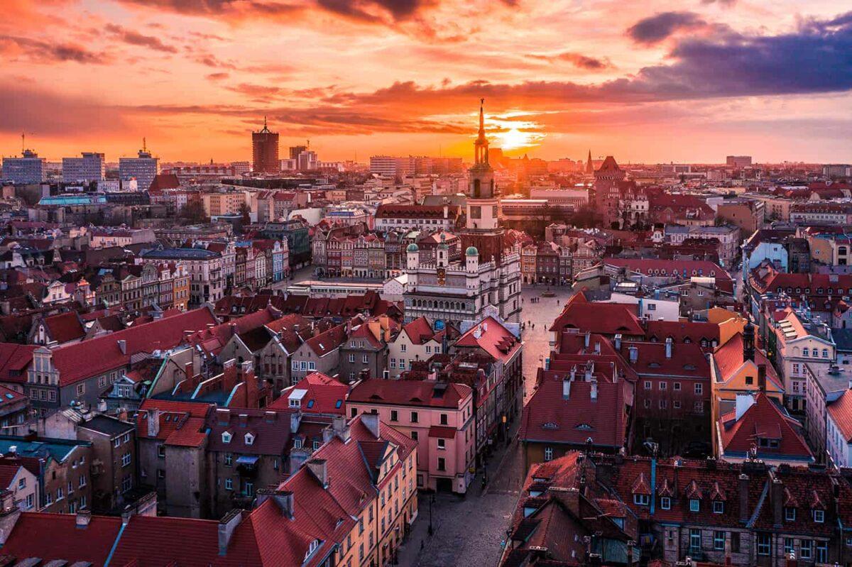 Poznań - świetne miasto na wypad city break z Krakowa